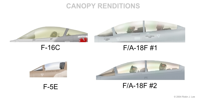 Different approaches to canopies that Iu0027ve tried.  F/A-18F #2  is what Iu0027m currently experimenting with which conveys a better sense of sunlight.  sc 1 st  Estimative Error Probable & A Noviceu0027s Guide to Digital Aviation Profile Art - www.rjlee.org